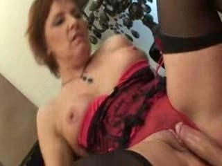 His horny mother in law seduces him