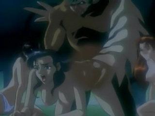 Hentai tentacle violation for girl