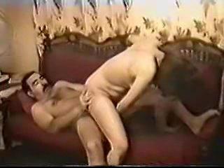 Homemade movie with hairy guy fucking slut
