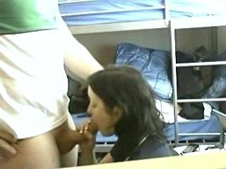 College Girl gets recorded in dormroom