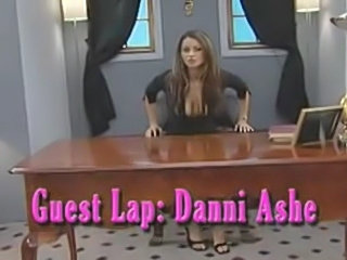 Another lapdance by Zemanova for Danni Ashe
