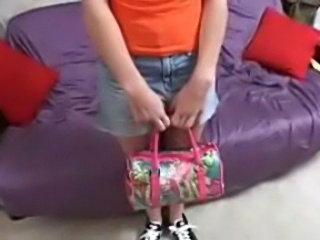 Teen wants jod against pussy