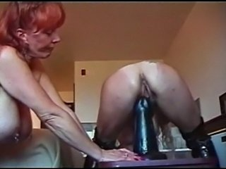 S tephan Wollfe Insertion Dildo En Pussy