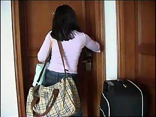 Latina girl fuckt in hotel