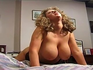 Hot BBW Mature with huge tits fucked in satin