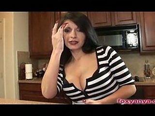 Big Tits Latina Blows Cock Gets Fucked In Kitchen