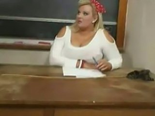 Very big Teacher helps me cum