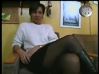 Mature German Woman Fucking Herself. Mature German Woman Fucking Herself