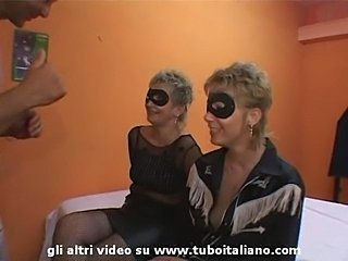 Italian Mother and Daughter Incest Orgy
