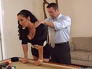 Latina Beauty Fucks Guy On Pool Table