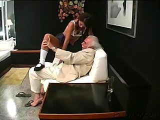 Piss: Shes fucked hard in all her holes and then pissed on