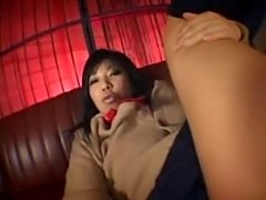 Japanese girl with her vibrators