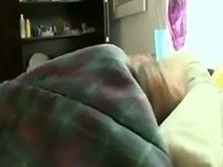 Gorgeous Girlfriend Surprised in Her Sleep