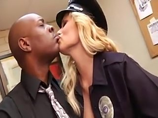 Jada Fire and Shyla Stylez in cop fuck