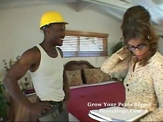 Horny milf visited by black cock  free