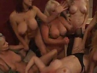 A bunch of army girls having a lesbian orgy - freeporn.com  free
