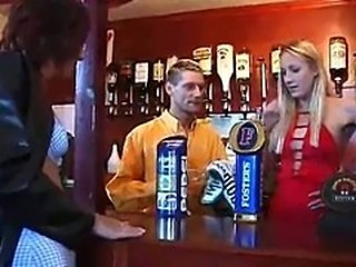 Barmaid gives head, gets a fucking to remember