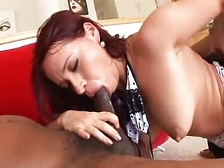 Olga Cabaeva taken by two black dicks