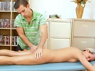 Massage turns into fucking