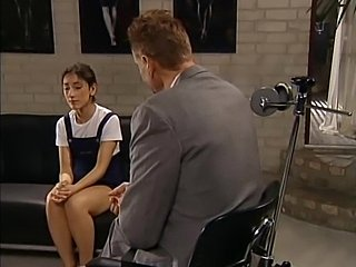 Shy Turkish schoolgirl Sibel Kekilli gets shaved and fucked