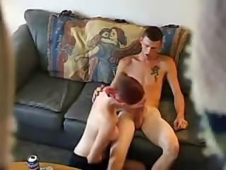 Hidden cam shows these two doing some oral and hot fucking