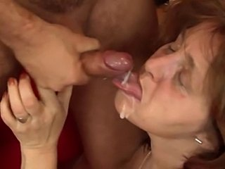 Chubby Mature Sucks and Rides Cock - xHamster.com