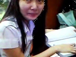 Thai student no unde free