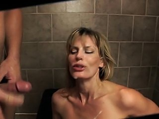 Milf anal in shower