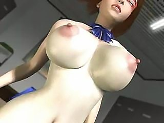 3D busty Asian schoolgirl does all the naughty things she can do with a long dick