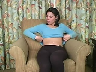 Latina babysitter wants to see it - jerk your dick off for m free
