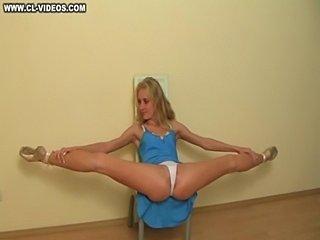 Stretching girl  free