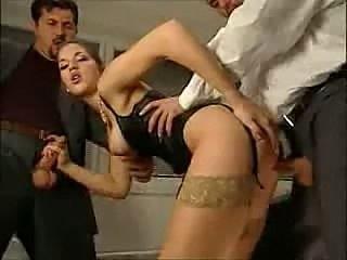 Sexy Italian threesome