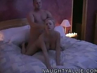 ALLIE'S SECRET SEX TAPE  HOMEMADE AMATEUR WIFE