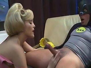 XXX Batman is on porn duty