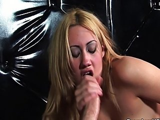 Gwen Diamond blowing it up