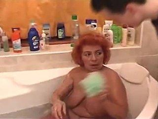 Big Sexy Butt BBW Redhead Granny Babu
