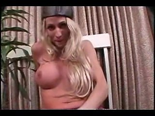 Longhaired dolly jerks at home