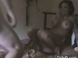 Slutty Brunette Caught Cheating On Hidden Camera In Motel