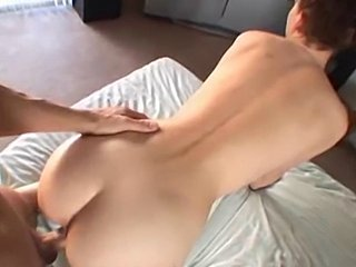 Her BF gives her a creampie - xHamster.com