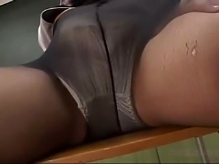 2 teachers in pantyhose masturbating in front of each other  free