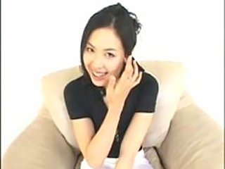 Interview & sex scenes of Emi Fukazu, ex cabin attendant.