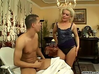 Alexa - hot milf riding on cock  free