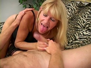 Mature tanned blonde in action. - xHamster.com