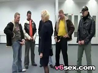 Hot german mom gangbanged v6sex free porn  free