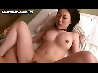 Busty Japanese girl gets fucked hard by this horny hard cock