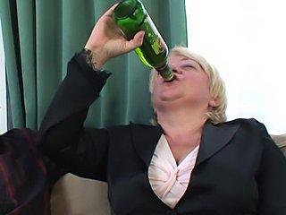 Mammy get drunk