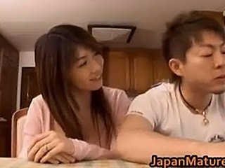 Japanese mature babe gets fucked doggy part6
