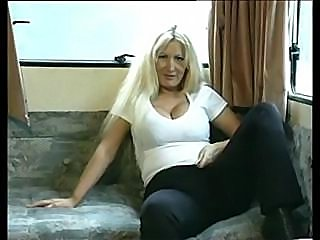 Amateur British mom toys then her wet pussy fucked