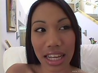 Lucy thai Black dick in asian chick