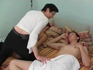 Mother Seduced Her Young Sons